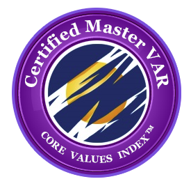 Master-VAR badge - purple